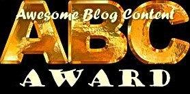 ABC Blog Award