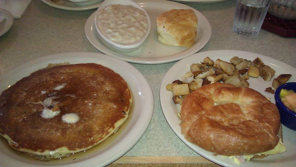 Breakfast at the diner