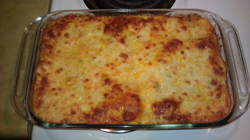 Made with ground turkey, no-boil lasagna noodles, olive oil, onion ...